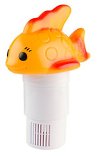 """Chlorine Floater Floating Dispenser For 3 Tablets Hot Tub Small Pools Pool Spa"""""""