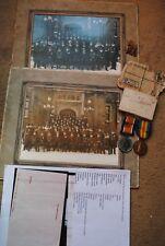 WW1 medals RGA and policeman