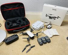 Dji Spark Drone Controller Combo + 3 Batteries, Mult. Battery Charger + More
