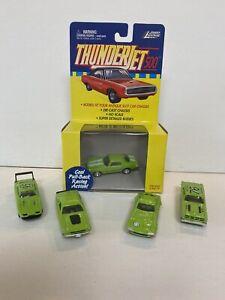 JL Thunderjet 500. Green Colors. Lot of 5 Bodies.