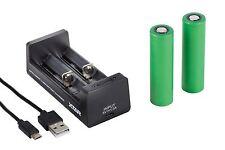 2 Sony Konion Akku US 18650 VTC5 3,7V 2600mAh - inkl. XTAR MC2 Ladegerät + Box