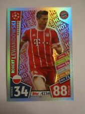 Match Attax CL 2017/18 - Hot Shot card - Robert Lewandowski of Bayern Munich #69
