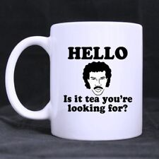 Top Funny HELLO IS IT TEA YOURE LOOKING FOR Coffee Mug Ceramic 11oz