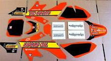 Honda crf 50 pit bike Decals  04-13 Graphic Kit Lucus Oil Troy Lee Graphics Only