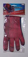 NWT Amazing Spider-Man Spiderman Adult and older child Gloves ages 14+ Costume