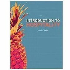 Introduction to Hospitality by John R. Walker (2012, Hardcover, Revised)