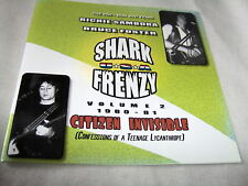 SHARK FRENZY-VOLUME 2-CITIZEN INVISIBLE-RICHIE SAMBORA NEW CD