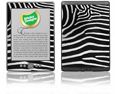 Amazon Kindle 4 Ebook Reader-Zebra Piel de vinilo adhesivo cubierta