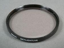 58mm SKYLIGHT Filter o. Bezeichnung(No Name) Einschraub 58mm Glas sehr gut
