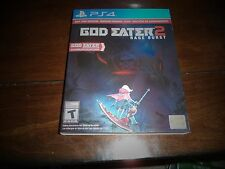 GOD EATER 2: RAGE BURST FOR PLAYSTATION 4 PS4 WITH SLIP COVER!