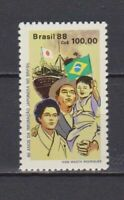 S19233) Brasilien Brazil 1988 MNH Neu Japanese Einwanderer 1v