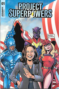Project Superpowers Vol. 3 0 & 1 - NM/MT available 1:10 to 1:50 Biden & Harris