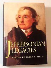 Jeffersonian Legacies edited by Onuf 1993 HCDJ Gift Quality in Broadart Cover