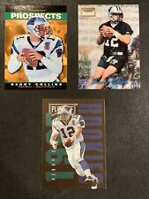 1995 Lot of 3 KERRY COLLINS RC Upper Deck SP Skybox Premium & Playoff Contenders