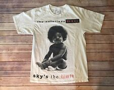 The Notorious BIG Ready To Die Men's Medium Hip Hop Rap White Cotton T Shirt