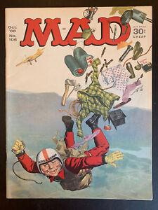 Mad Magazine No. 106 October 1966 Sky Diving