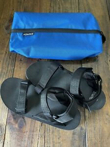 Source Outdoor Classic Black Sandals Size 13 US