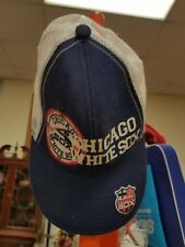 MLB CHICAGO WHITE SOX VINTAGE TRUCKER SNAPBACK HAT CAP AMERICAN NEEDLE