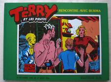 Terry et les Pirates Rencontre avec Burma Milton CANIFF éd Slatkine