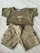 Build a Bear 2tlg Jungen Set NORTH SHORE Hawaii Tshirt Hose  Teddybekleidung