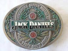 JACK DANIELS 1995 TENNESSEE SIPPIN' WHISKEY BELT BUCKLE