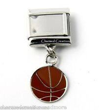 DIY Custom Photo Basketball 9mm Italian Charm Picture Sports Dangle Link