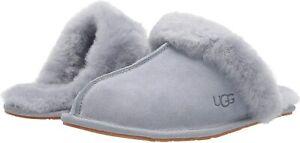 Women's Shoes UGG SCUFFETTE II Silkee Suede Slide Slippers 1106872 ASH FOG
