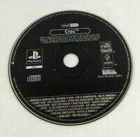 Playstation 1  Croc Demo Disc Promo  Envoi rapide et suivi