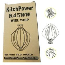 K45WW Wire Whip Attachment for Tilt-Head Stand Mixer for Kitchen Aid Stainless
