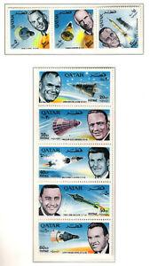 """Qatar  """" Amerikanische Astronauten """" Nr. 142 - 144  +  145 –149 siehe Scan **"""