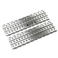 2Pcs Stainless Steel Sand Ladders Board for Axial SCX10 TRX-4 D90 1/10 RC C U4L8