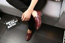 Chaussures décontractées marrons sans marque pour homme