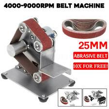 Mini DIY Belt Sander Edge Sharpener Polishing Grinding Machine 4000-9000RPM