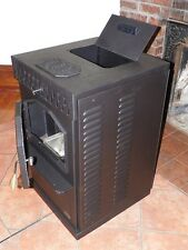 POWER-OUTAGE WOOD PELLET STOVE Model I (One), AUTO SWITCHING 115VAC to 12VDC
