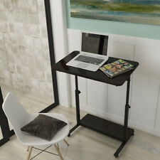 Height Adjustable Mobile Laptop Stand Computer Desk Table Sofa Bed Tray Study UK
