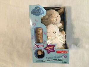 NIB Twilight Buddies Cloud B Sleep Sheep w/Little Mini Sheep Rattle Stuffed Toys