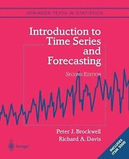 Introduction to Time Series and Forecasting, Includes ITSM 2000