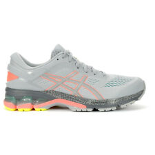 ASICS Women's Gel-Kayano 26 Lite Show Piedmont Grey/Sun Coral Running Shoes 1...