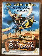 Jackie Chan Steve Coogan AROUND THE WORLD IN 80 DAYS ~ 2004 Adventure UK DVD