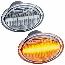 2 CLIGNOTANT LED FIAT 500 500C A PARTIR 2007 & 500L 500 L A PARTIR 2012 BLANC