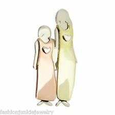 Mima & Oly Mother and Daughter PIN - Family Big Sister Little Sister Brooch NEW