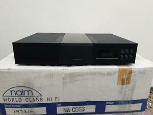Naim CDS3 cd player   BOXED WITH REMOTE