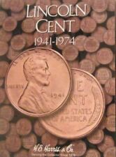 H.E. Harris Lincoln Cent 1941-1974 Coin Folders brand new for pennies no coins