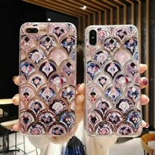 For Samsung S10/S9/S8+ Note 10 Mermaid Bling Liquid Glitter Quicksand Case Cover