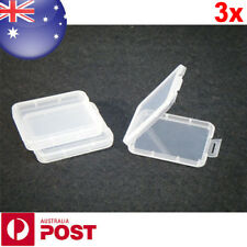 3 x CF Memory Card Cases Protection Plastic Box for CF Compact Flash Card Z188-3