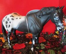 #88437 Corral Pals Black Appaloosa Stallion Breyer Horse by Collecta NWT's