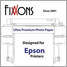 "Ultra Premium Glossy Inkjet Photo Paper 50"" x 100'  for Epson"