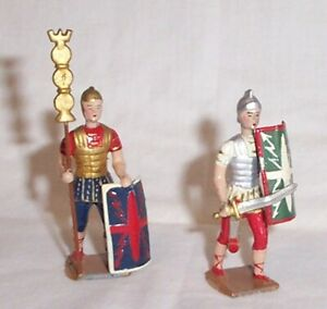 Two Very Fine MIGNOT Roman Soldiers ,Very Good Condition