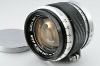 Canon 50mm f1.8 Lens Leica Screw Mount L39 LTM From JAPAN c-00006