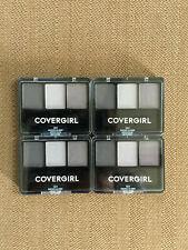 4 Covergirl SMOKE ALARM 101 Eye Enhancer Shadow Eyeshadow Trio Palette